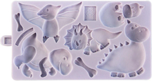 Silikonform Dinosaurier - Karen Davis