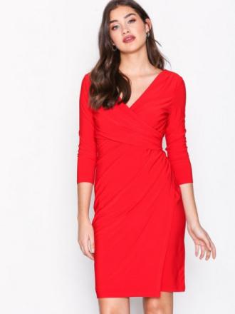 Lauren Ralph Lauren Electa 3/4 Sleeve Dress Fodralklänningar