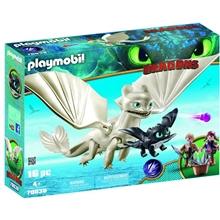 70038 Playmobil Light Fury med Drage og Barn