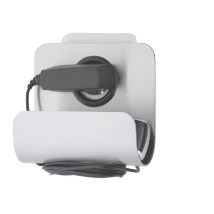 BLOMUS Movo telefonladdare till väggen - Rostfritt stål