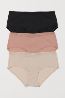 H & M - MAMA 3-pack truse hipster - Rosa