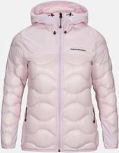 Helium Glacier Hood Jacket Women Vaaleanpunainen M