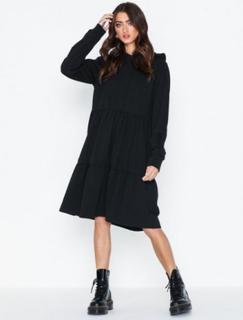 Noisy May Nmeda L/S Hood Sweat Dress Loose fit dresses
