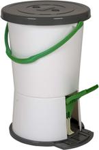 Bo-Camp Tvättmaskin med fotpedal vit