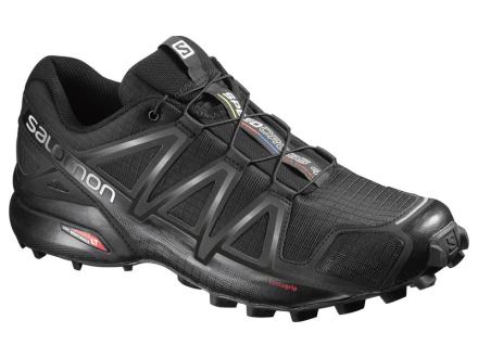 Salomon Speedcross 4 WIDE Bk/Bk/Black metallic