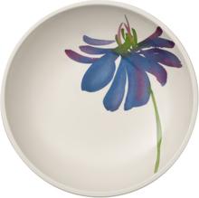 Artesano Flower Art skål Ø 23,5 cm Vit