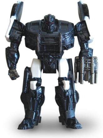 Transformers - Barricade Robot Diecast Model - 1/64