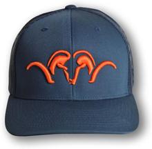 Blaser Snapback Keps Mesh, Navy/Orange