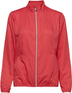 Mia Wind Jacket Outerwear Sport Jackets Rød Daily Sports