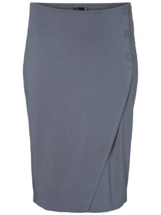 JUNAROSE Midi Skirt Women Grey