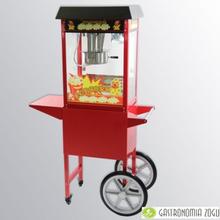 Popcornmaskin / opcornvagn komplett