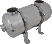 vidaXL Poolvärmeväxlare 355 x 134 mm 40 kW