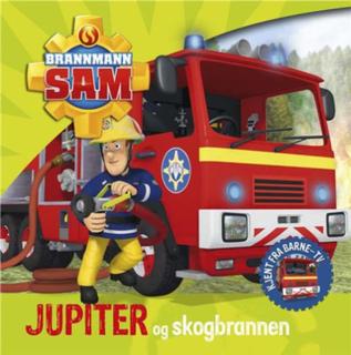 Brannmann Sam - Jupiter og skogbrannen (BOK)