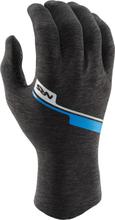 NRS HydroSkin Gloves, gray heather M 2019 Tilbehør til gummibåde