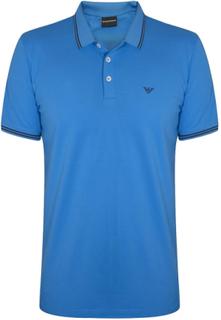 Emporio Armani Emporio Armani himmelsblå Polo Shirt blå X-Large