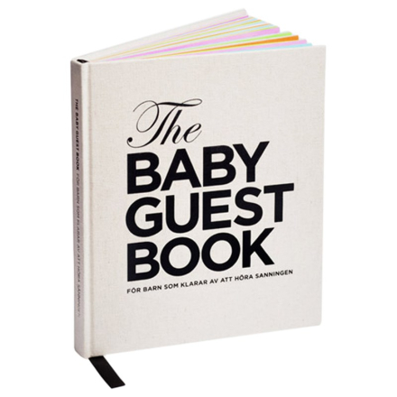 The Baby Guest Book Swedish