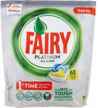 Fairy Platinum All in One Konetiskitabletti 63 kpl