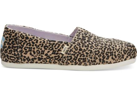 TOMS Schuhe Leopard Canvas Classics Für Damen - Größe 36.5