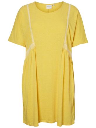 JUNAROSE Jersey Dress Women Yellow
