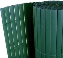 vidaXL Dubbelsidigt insynsskydd PVC 150x300 cm grön