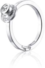 Efva Attling AVO Wedding Ring Vitguld