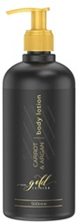 Eco Masters Carrot & Argan Body Lotion - Avanceret Naturlig Hudpleje - Revitaliserende Hudpleje - 500ml