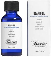 Baxter Of California Beard Grooming Oil 30 ml Barbering Transparent