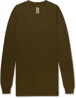 Slim-fit Virgin Wool Sweater - Army green