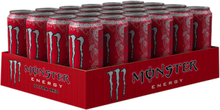 24 x Monster Energy Ultra, 50 cl, Red