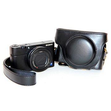 Sony Cyber-shot DSC-RX100 Mark III, Mark IV Kamera Taske - Sort