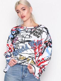 Love Moschino W634200M3906 Sweatshirts White