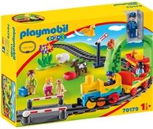 70179 Playmobil Mn Første Togbyggebane
