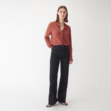 Raka jeans med hög midja JULIE