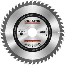 Kreator Sagblad for sirkelsag 48 tenner - Ø210 mm