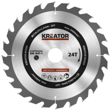 Kreator Sagblad for sirkelsag 24 tenner - Ø210 mm
