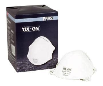 Støvmaskje Ox-On FFP2NR, 20 stk