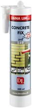 Dana Lim Concrete Fix 549 mørtel, Grå mørtelfarge, 300 ml