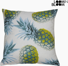 Pude Polyester Blå (45 x 45 x 10 cm) by Loom In Bloom