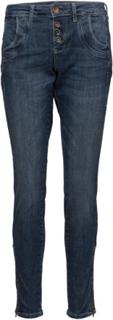 Melina Loose Jeans Skinny Jeans Blå PULZ JEANS