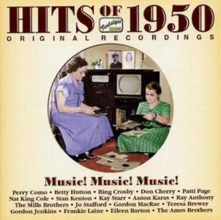 Various Artists Hitsen från 1950 - musik! Musik! Musik! av olika ko...