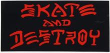 Thrasher - Skate and Destroy Medium Sticker
