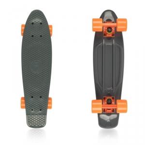 Pennyboard Classic 22'', grey/orange, Fish