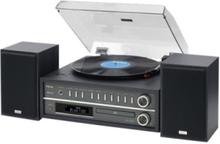 MC-D800 - audio system Skivspelare - Black