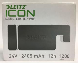NYA Leitz 70020000 ikonen batteripack för Leitz Icon etikett skriva...