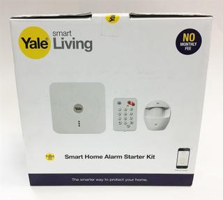 Yale smarta trådlösa WiFi hem larm säkerhet System startkit med kna...