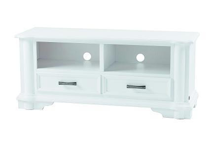 DELLO TV-Benk 125 Hvit -