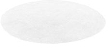 Matto pyöreä 140 cm valkoinen DEMRE