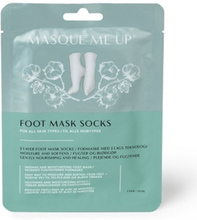 Masque me up foot mask sock