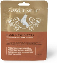 Masque me up hand mask glove