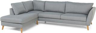 Trend 2,5 Soffa med Divan Vänster - Ljusgrå